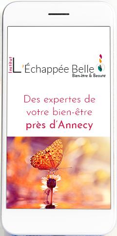 Des doigts de fées au service de votre peau près d'Annecy | Institut L'Echappée Belle